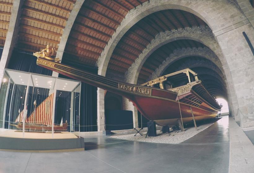 The sea museum Barcelona (1)