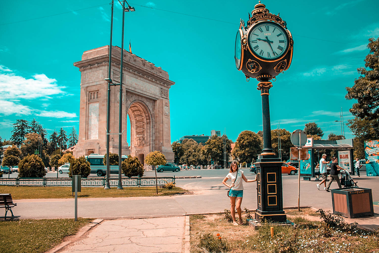 Arc-de-Triomf-Bucharest-Romania
