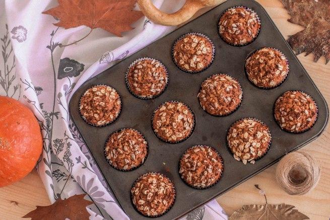 Healthy Pumpkin Muffins-4