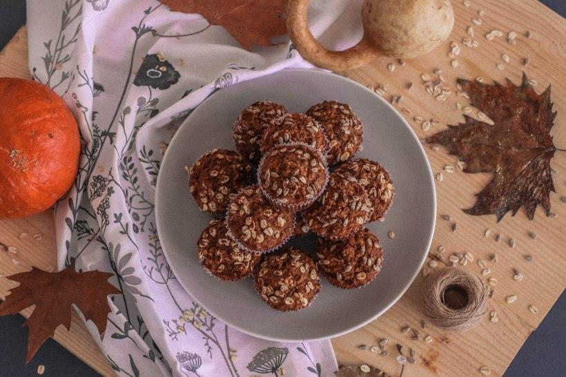 Healthy Pumpkin Muffins-6